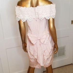 Scott McClintock Pretty in Pink 80s Prom Dress